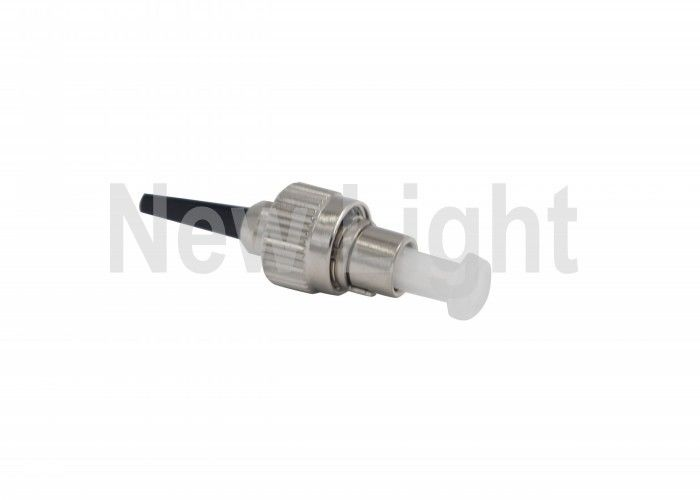 Single Mode Fiber Optic FC Connector Low Insertion Loss Value For CATV