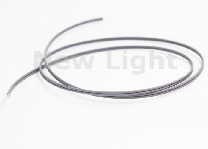 Gray Single Mode Duplex Fiber Optic Cable 3 mm Outer Diameter For Indoor