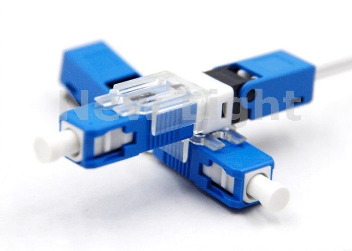 Embedded Type Fiber Optic Fast Connector UPC Polish For FTTH Outlets