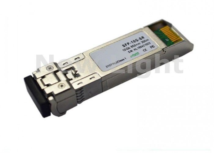 OEM SPF Optic Transceiver Module MMF 10G 300m Transmission SR SFP+ Transceiver