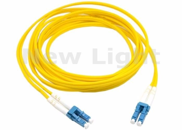 SM Duplex Fiber Optic Jumper Cables Dual LC TO LC Fiber Patch Cable Single Mode