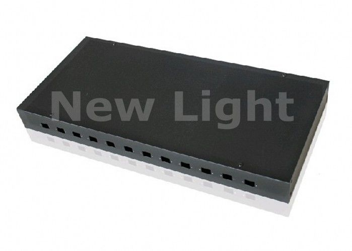 OEM 12 Port Fiber Optic Patch Panel , Optical Fiber Distribution Frame For CATV