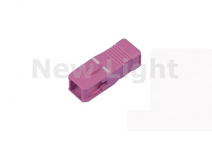 Pink Color Fiber Optic Parts SC Housing For Local Area Network CE Approved