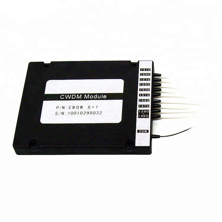 100G Fiber Optic Passive Cwdm Module 4CH / 8CH CWDM WDM Mux / Demux Add Drop Multiplexer Devices
