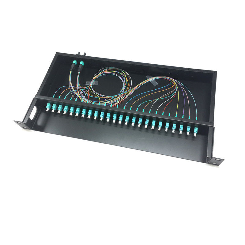 Ribbon  Fiber Optic Distribution Frame MPO / MTP cassette Date center Application