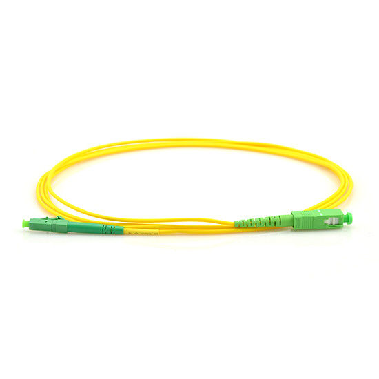 FTTH 5M Yellow Fiber Optic Patch Cord sc lc  Green SC To LC 2.0 cable Single Mode