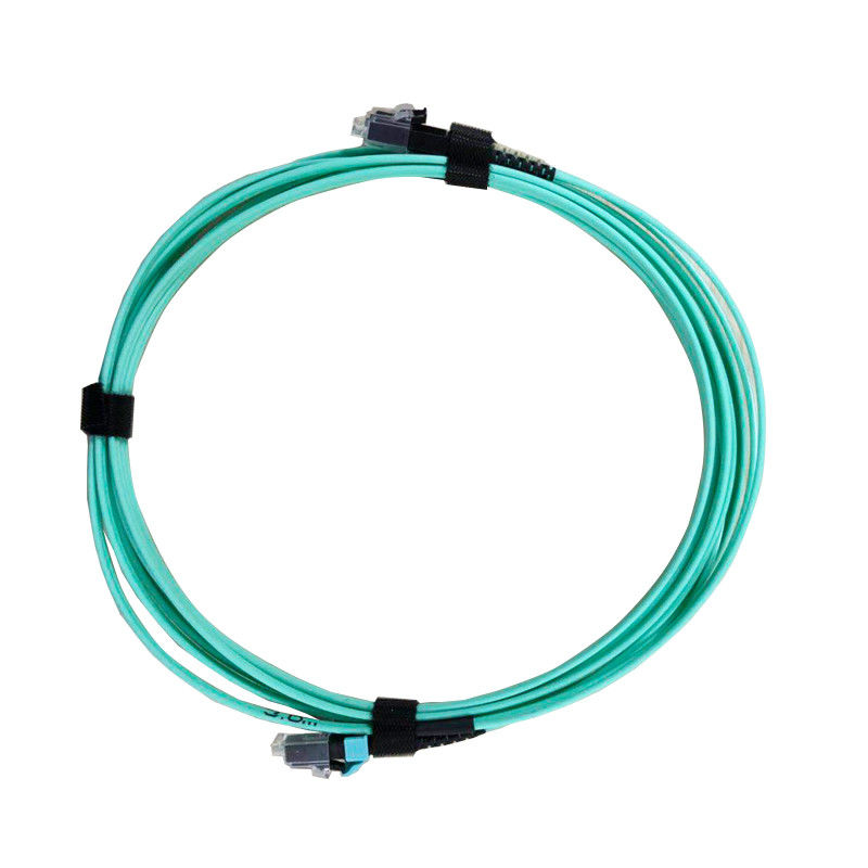 Sc Apc Optical Fiber Patch Cord Customizable Length High Temperature Stability